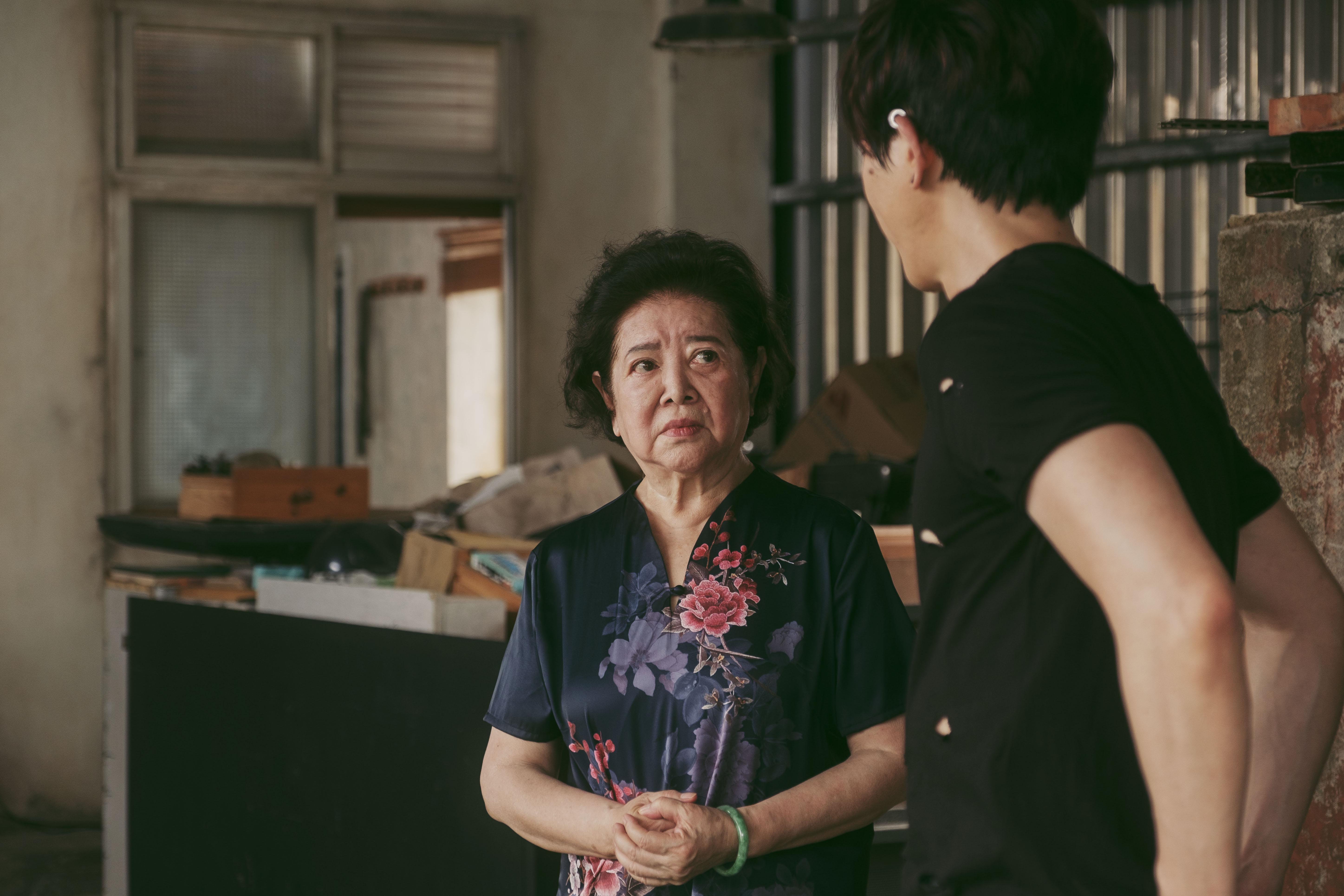 莫子儀在《親愛的房客》中飾演陳淑芳的租客,兩人詮釋微妙氣氛令人印象深刻