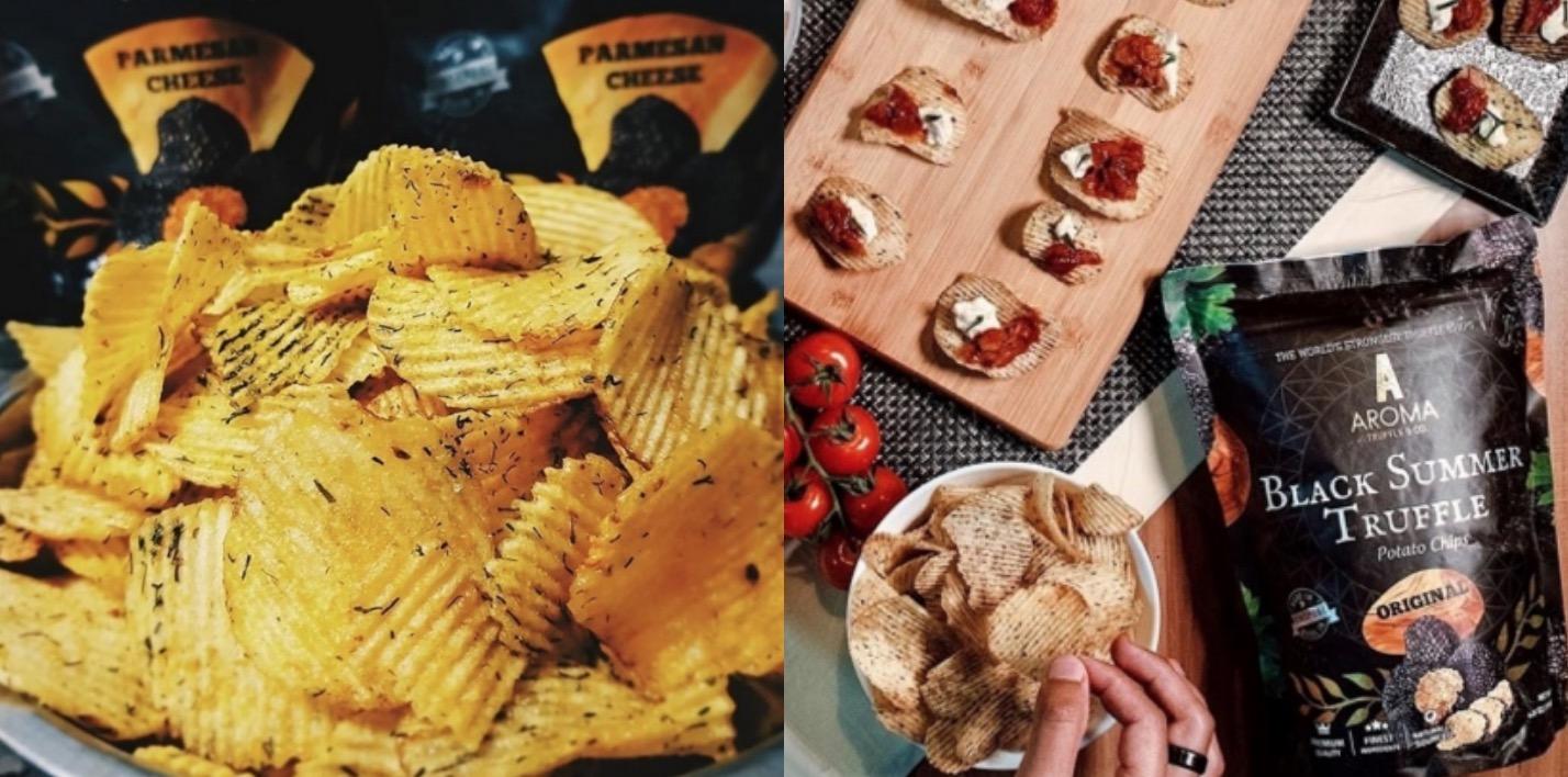 你絕對沒試過的黑松露好滋味!來自義大利的頂級黑松露遇上酥脆波浪洋芋片,每一口都是濃郁的黑松露香氣,每一口都讓你彷彿坐在米其林餐廳。