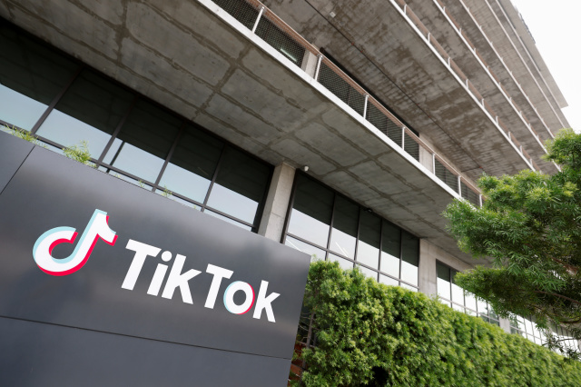 The U.S. head office of TikTok is shown in Culver City, California, U.S., September 15, 2020.   REUTERS/Mike Blake - RC28ZI9WNZD5