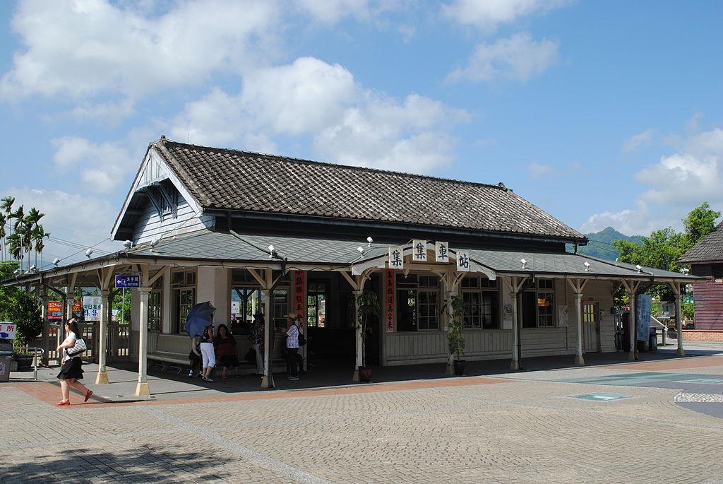 集集車站 (Photo by王彥翔, License: CC BY-SA 3.0, Wikimedia Commons提供)