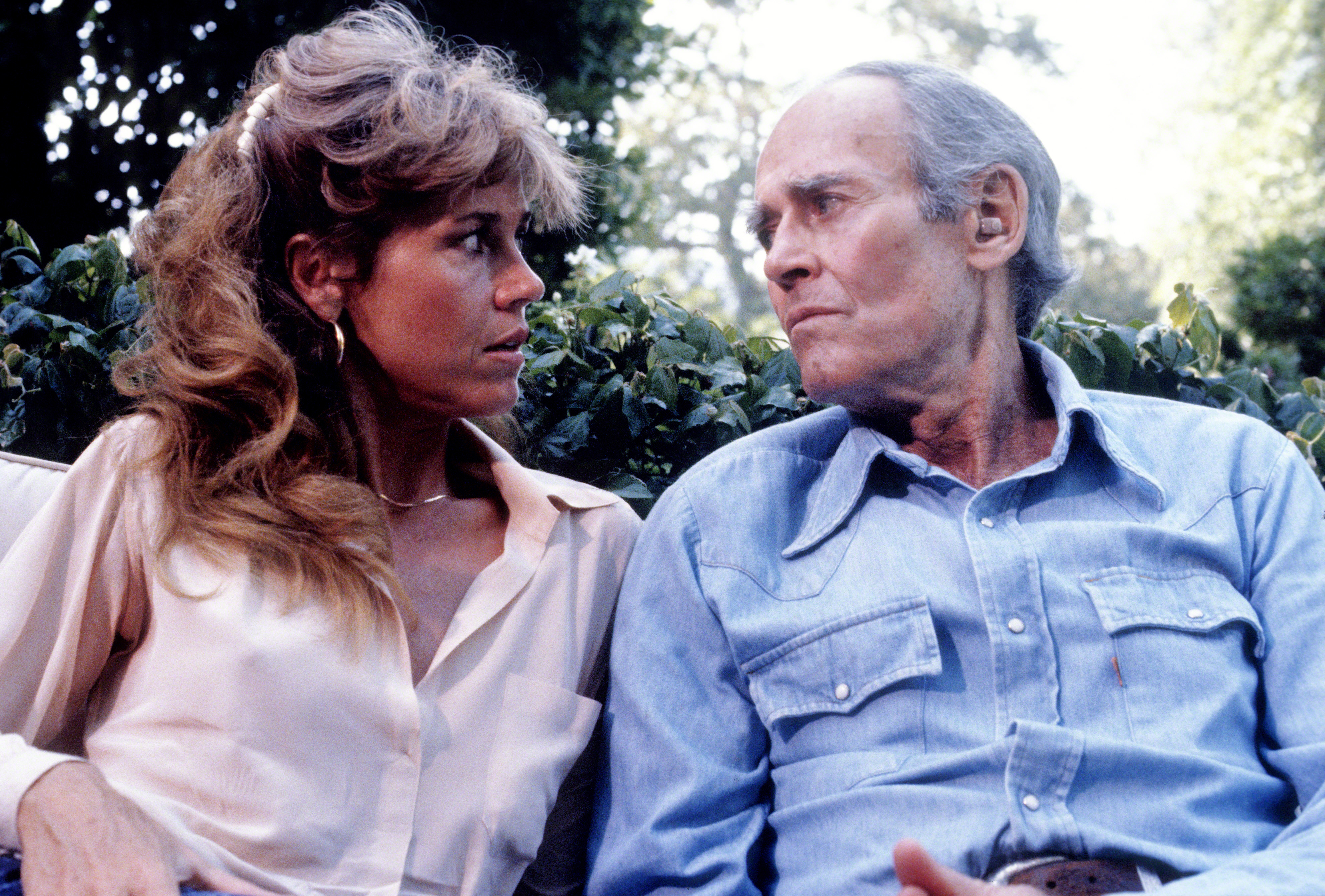 Fonda reflected on her relationship with dad Henry (pictured in 1979) and its impact on her love life. (Photo: Saxon/IMAGES/Getty Images)