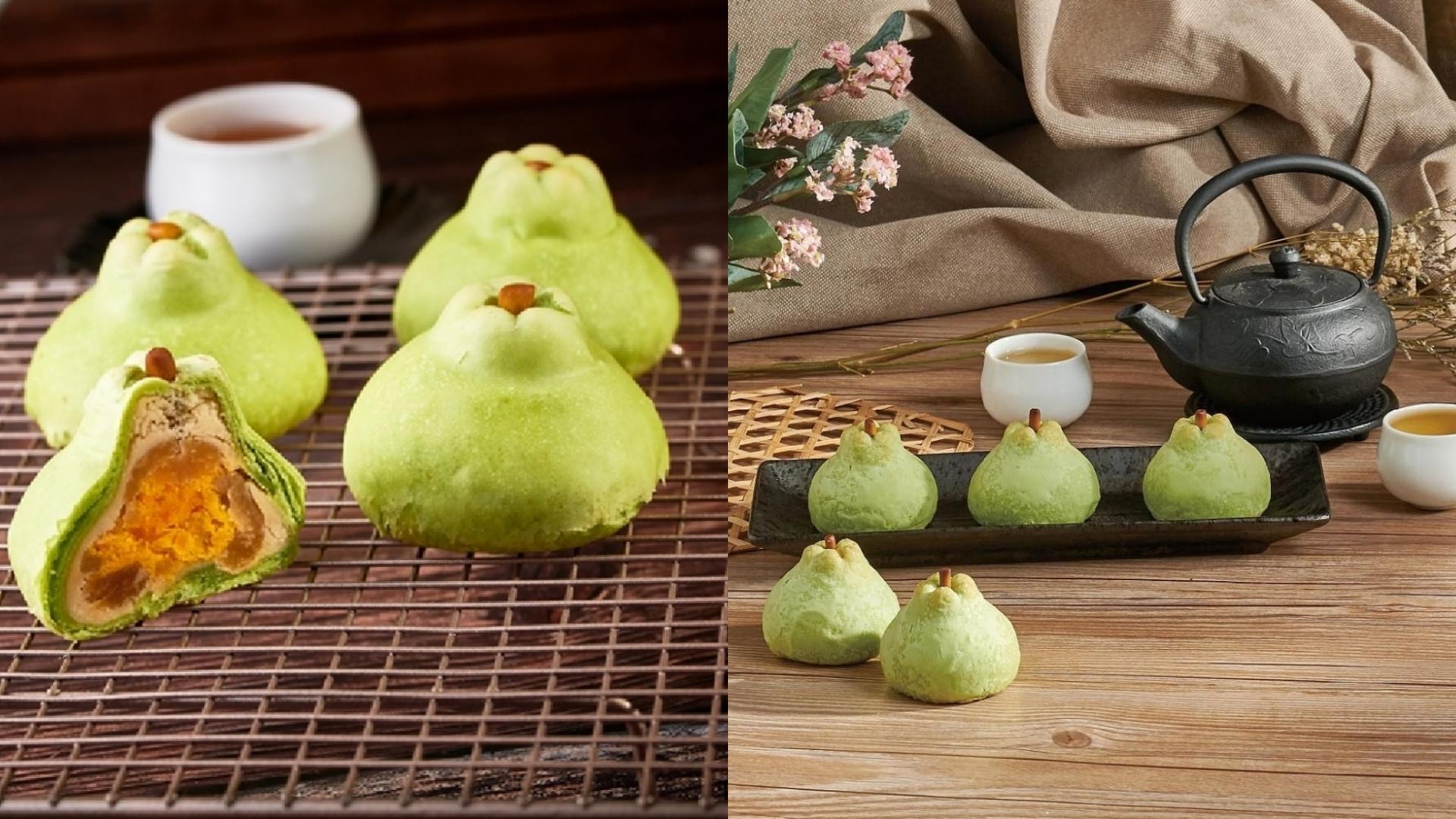 把蛋黃酥做成超級可愛的柚子造型,難怪可以蟬聯人氣王的寶座!而且外面的柚子造型還不只是好看而已,甚至吃起來還有柚子香氣!