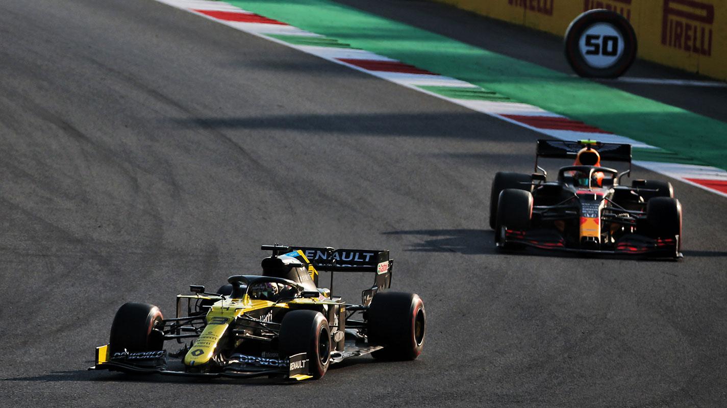 Ricciardo對Albon在Mugello賽道的速度感到沮喪