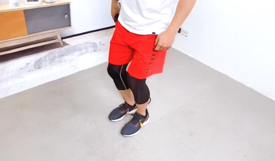 跳繩運動:記得要「微微屈膝」