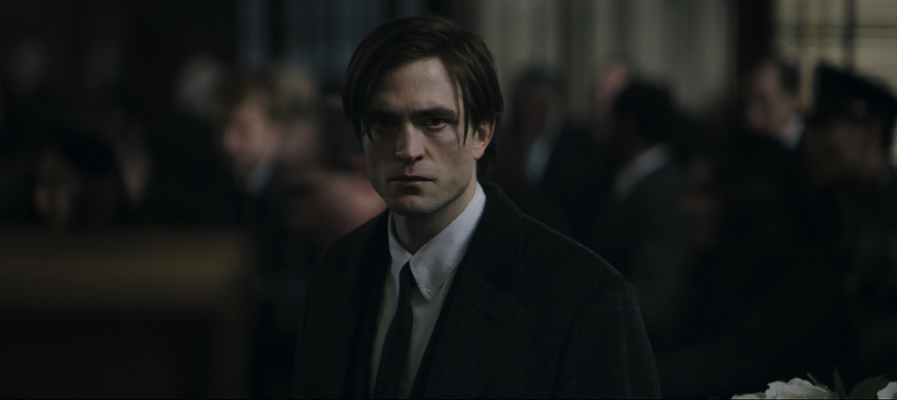 Robert Pattinson as Bruce Wayne in'The Batman,' which shut down production again following coronavirus concerns. (Photo: Warner Bros. Pictures/DC Comics)