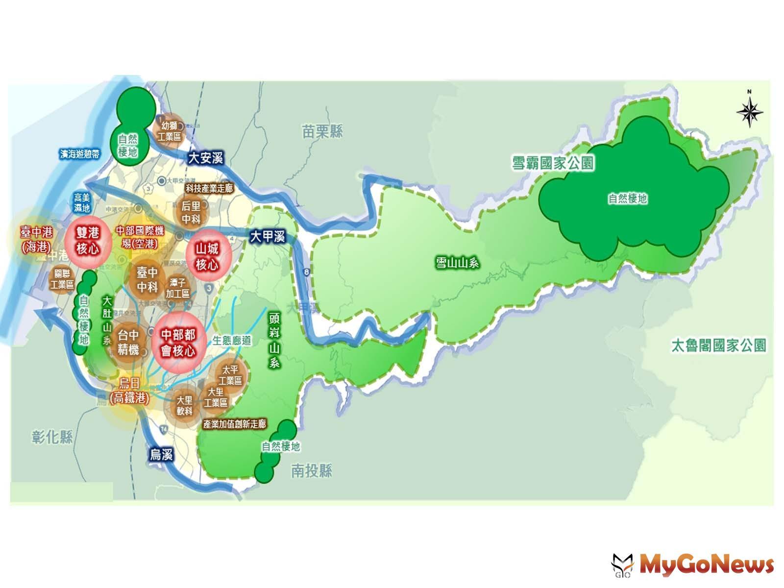 ▲台中市國土計畫審議通過,2021年4月30日前實施(圖:台中市政府)