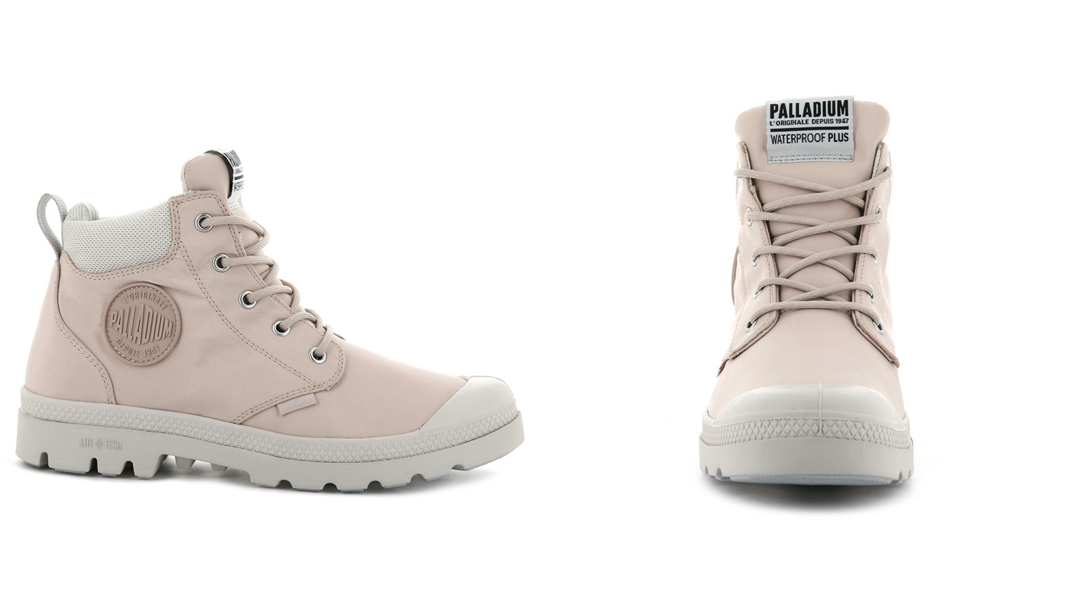 擁有防水的絕佳效能,時髦又休閒的鞋款設計