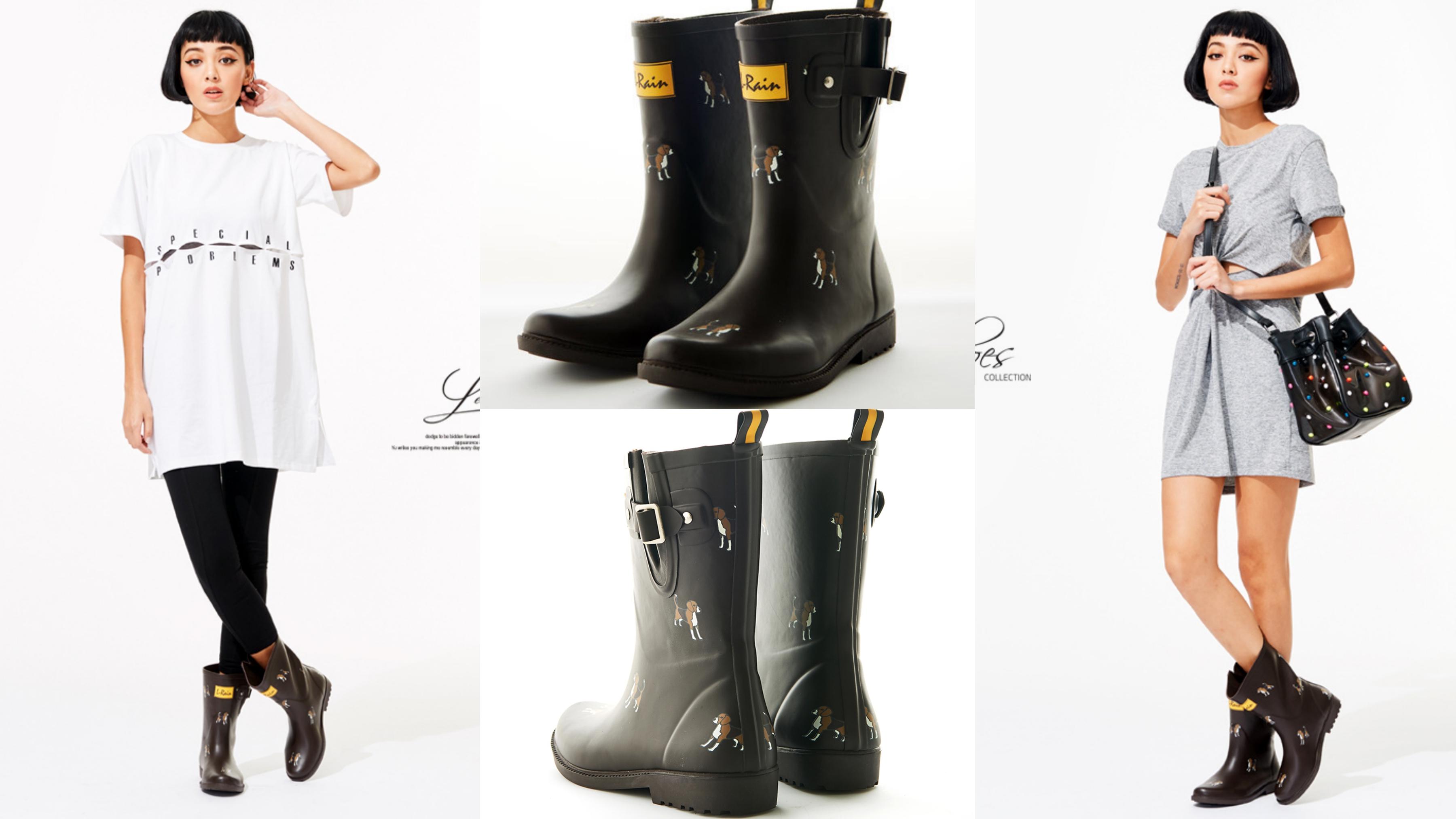簡約的設計,加上柔軟舒適的材質,在雨天仍舊輕盈優雅