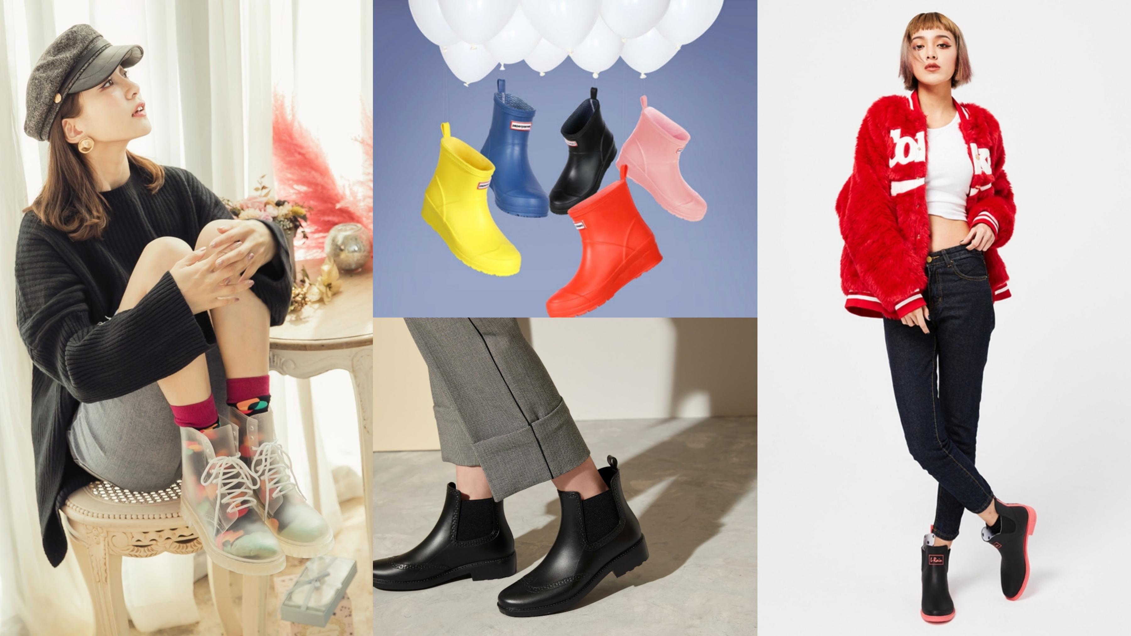 時髦高顏值雨靴/雨鞋TOP10!百搭又顯瘦