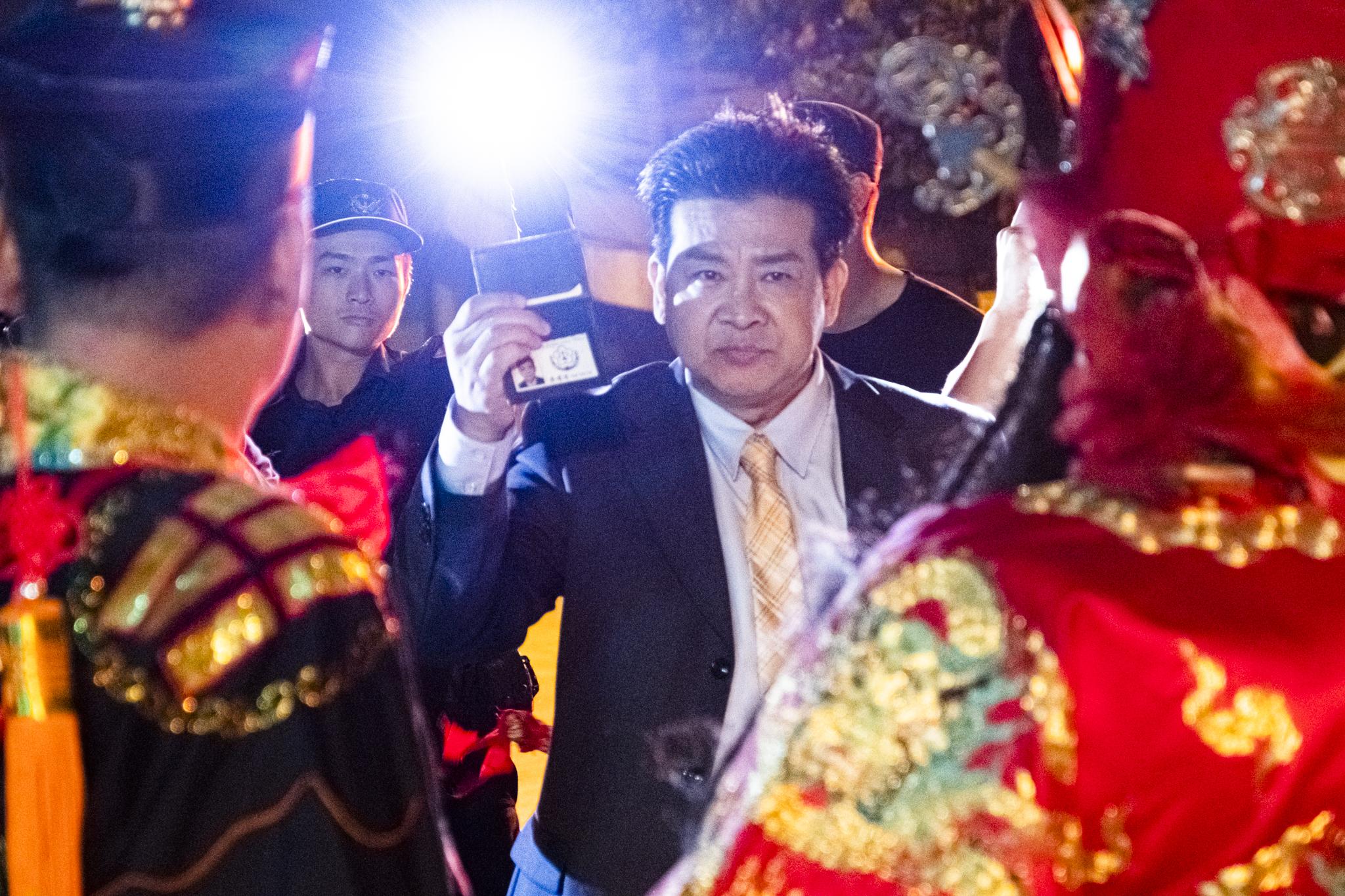 楊慶煌睽違20年在「馗降:粽邪2」演出反派角色,驚險上陣