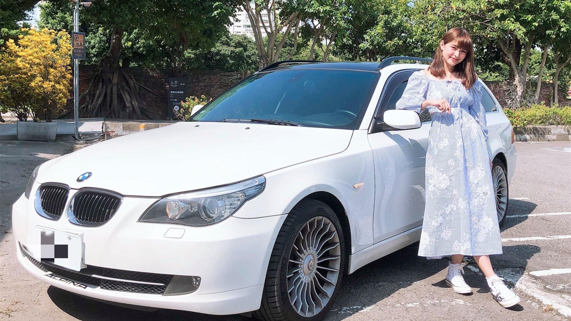 【明星聊愛車】林舒語跨海購入BMW日規530xi五門掀背旅行車 嚮往七人座大空間下台車鎖定特斯拉MODEL X
