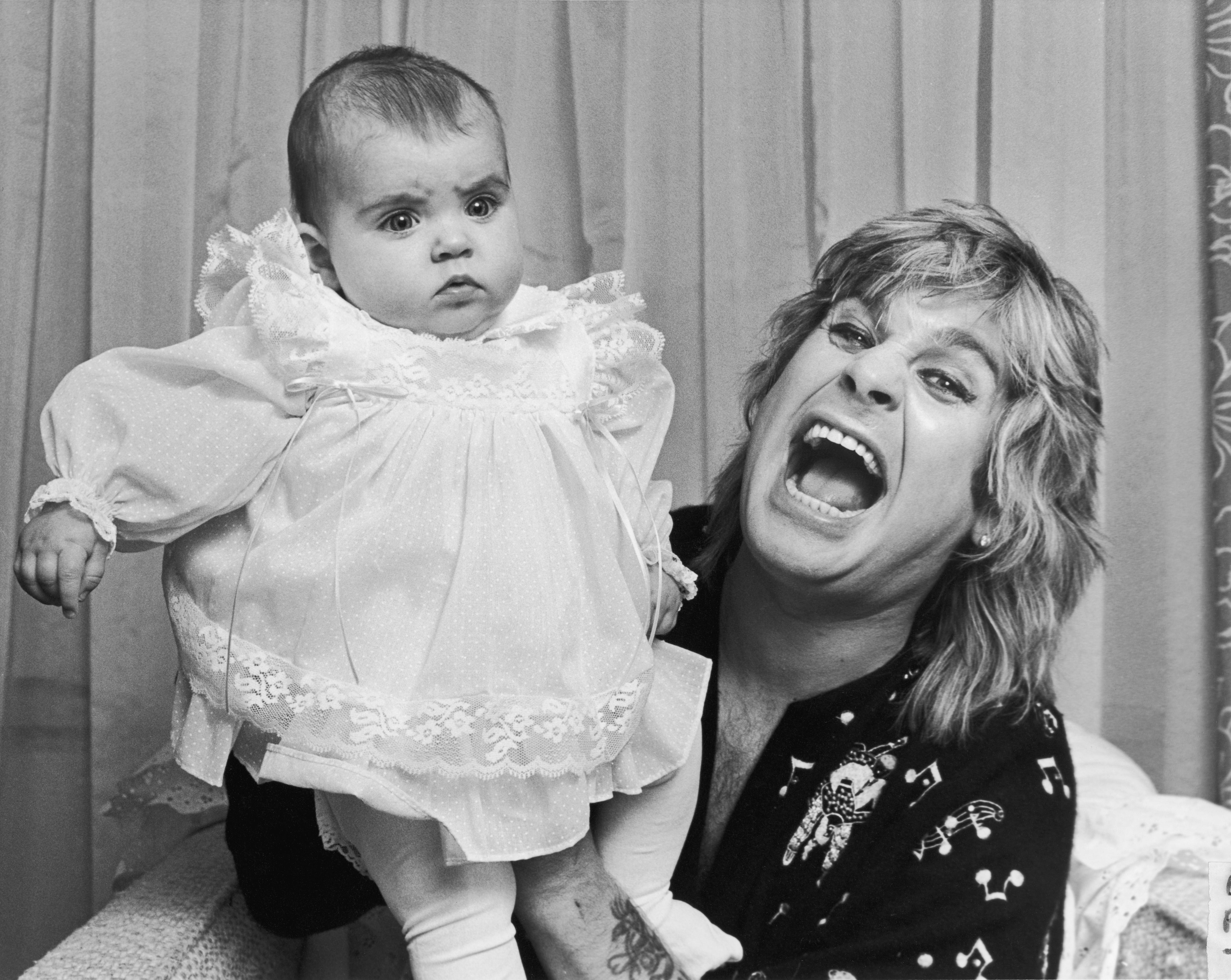 Ozzy and Aimée Osbourne in 1984. (Photo: DMI/Time Inc.)