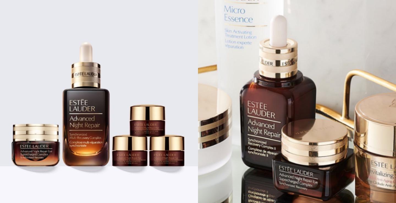 除了升級版小棕瓶,還有修護眼霜,幫助淡化黑眼圈,更能持續補水,眼部全天候水亮。