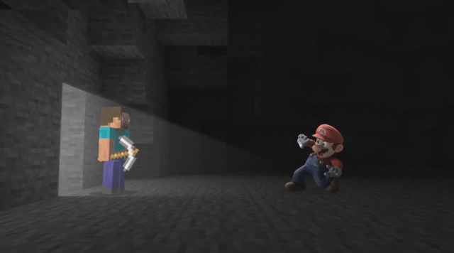 Super Smash Bros. Ultimate x Minecraft