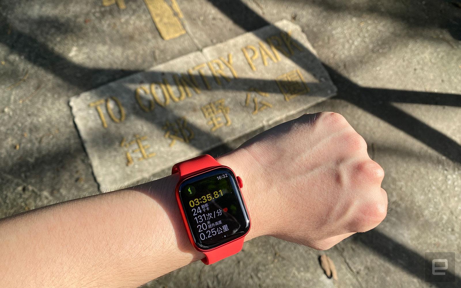 Apple Watch Series 6 遠足實測