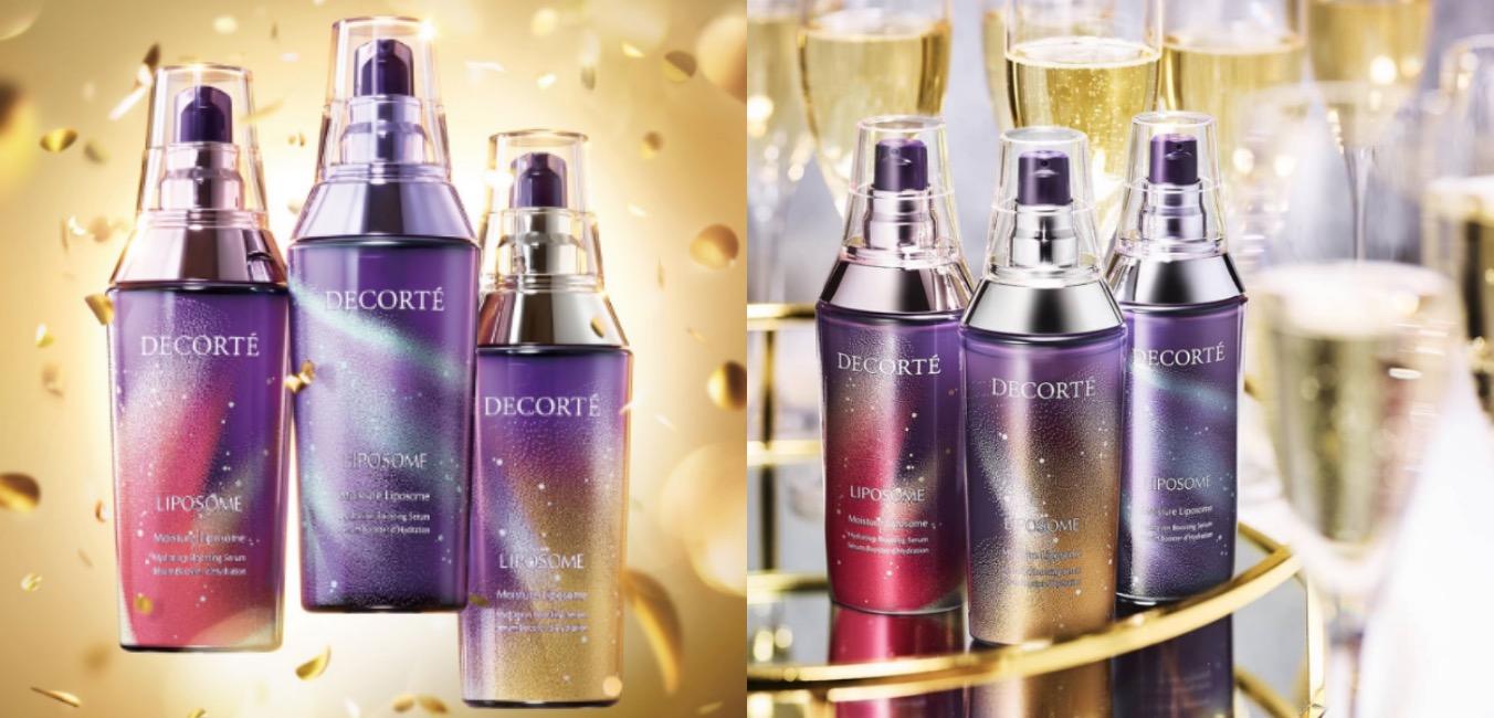 50周年的黛珂將明星商品「小紫瓶」推出加大版,以經典的紫色瓶身為基調,加上3種不同色彩的歡慶彩帶,象徵著慶祝意涵,從過去、現在到未來永保光燦美肌,向保濕美容液滿滿的潤澤與美肌效果致敬。
