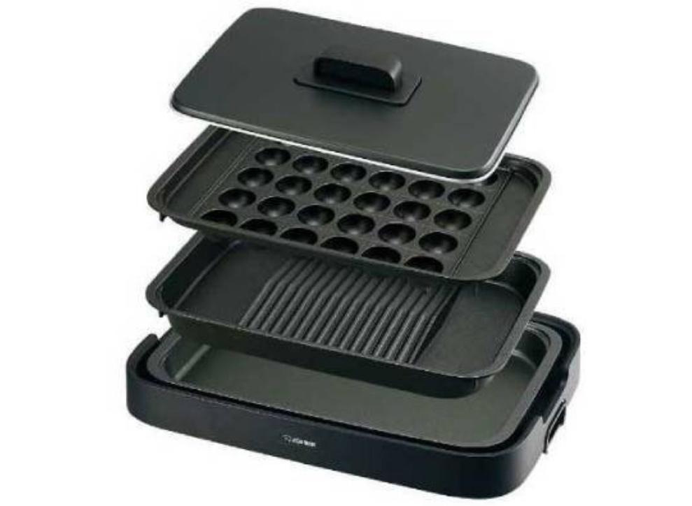 ▲Bic Camera推薦耐用款,傾斜烤盤完美瀝油防油噴。( 圖片來源:Yahoo拍賣)