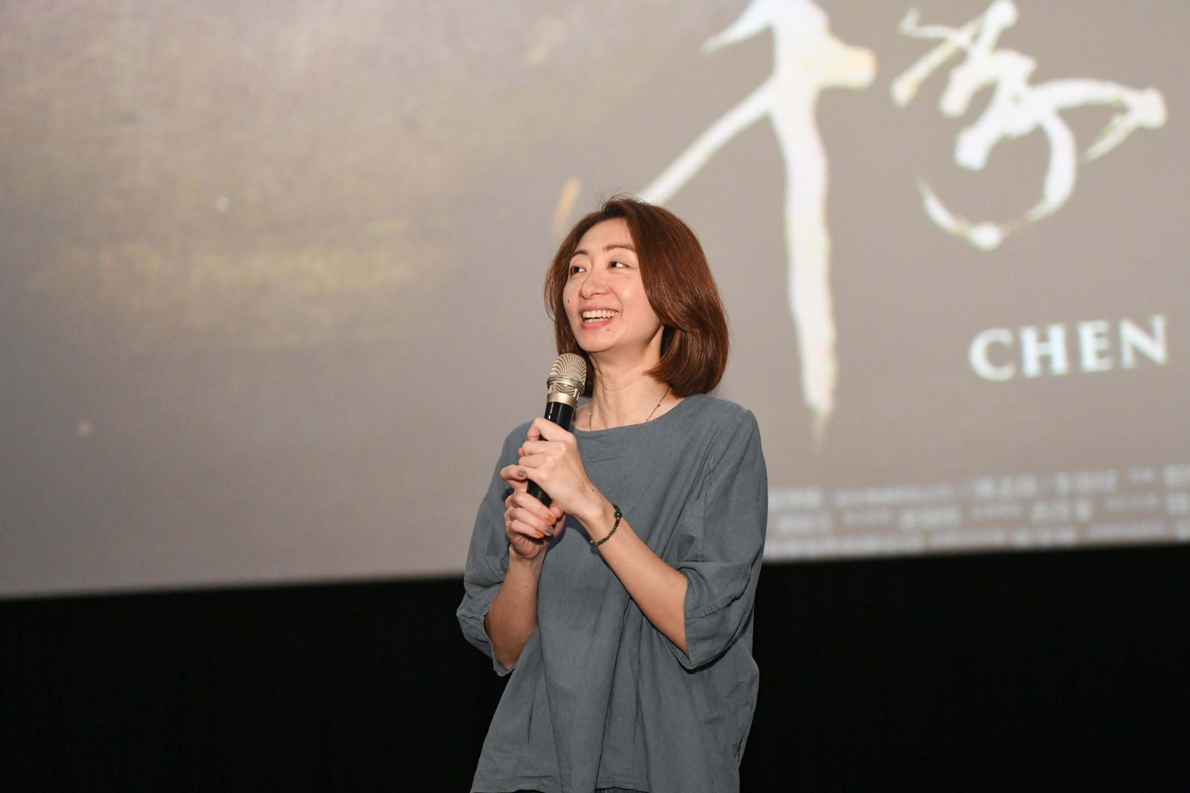 導演王婉柔分享《千年一問》拍攝過程的點點滴滴。