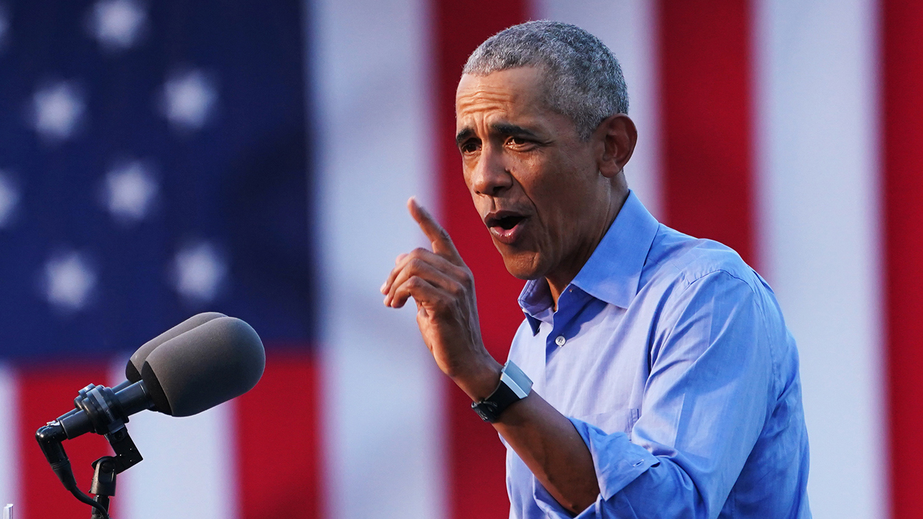 It just wont be so exhausting: Obama debuts his closing argument for Biden