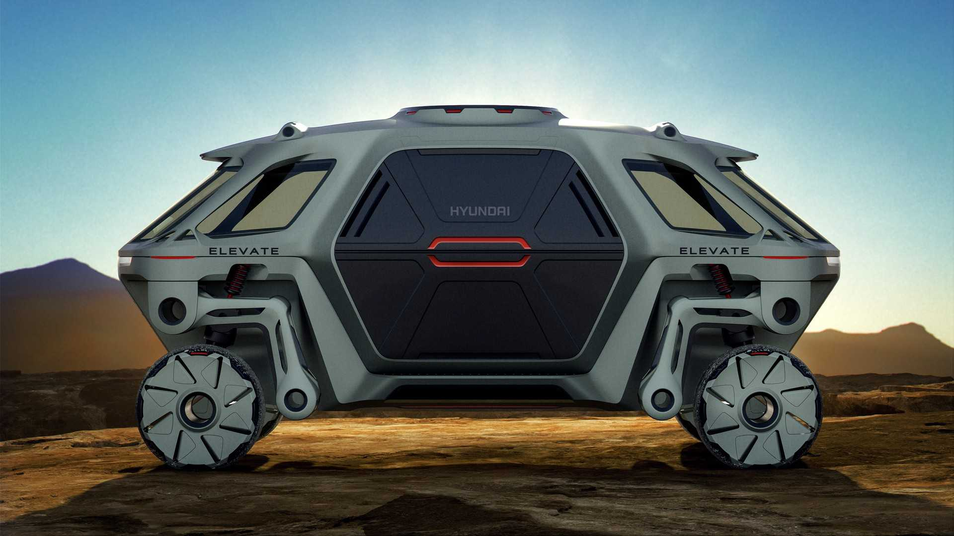 Hyundai真的打算做出「有腳的車輛」!
