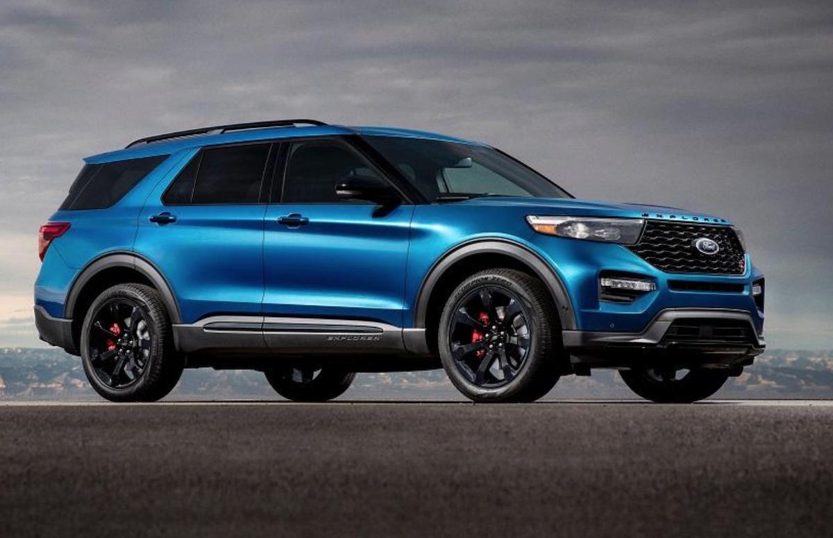 ST 家族是 Ford 性能招牌,在休旅車熱潮下,連 Explorer 7 人座休旅均有 ST 性能版。