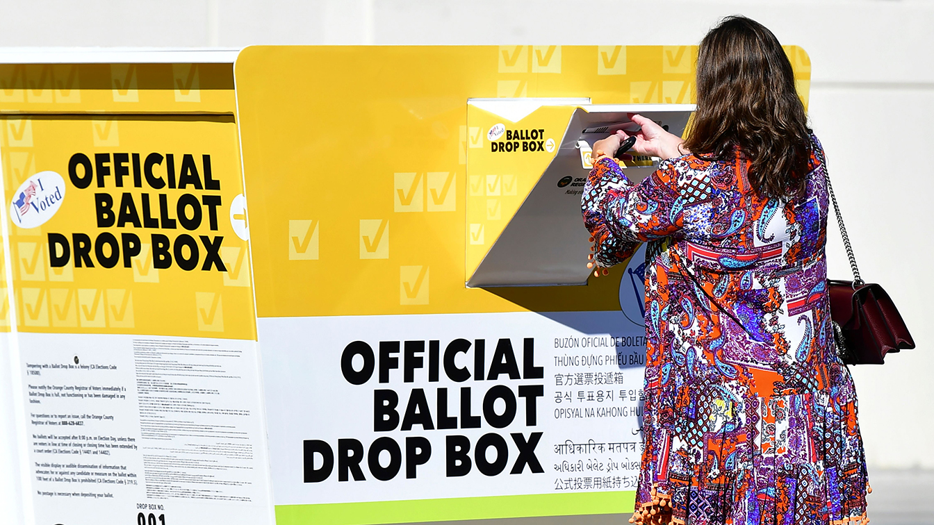 Republicans win court battles as they go after drop boxes in key states
