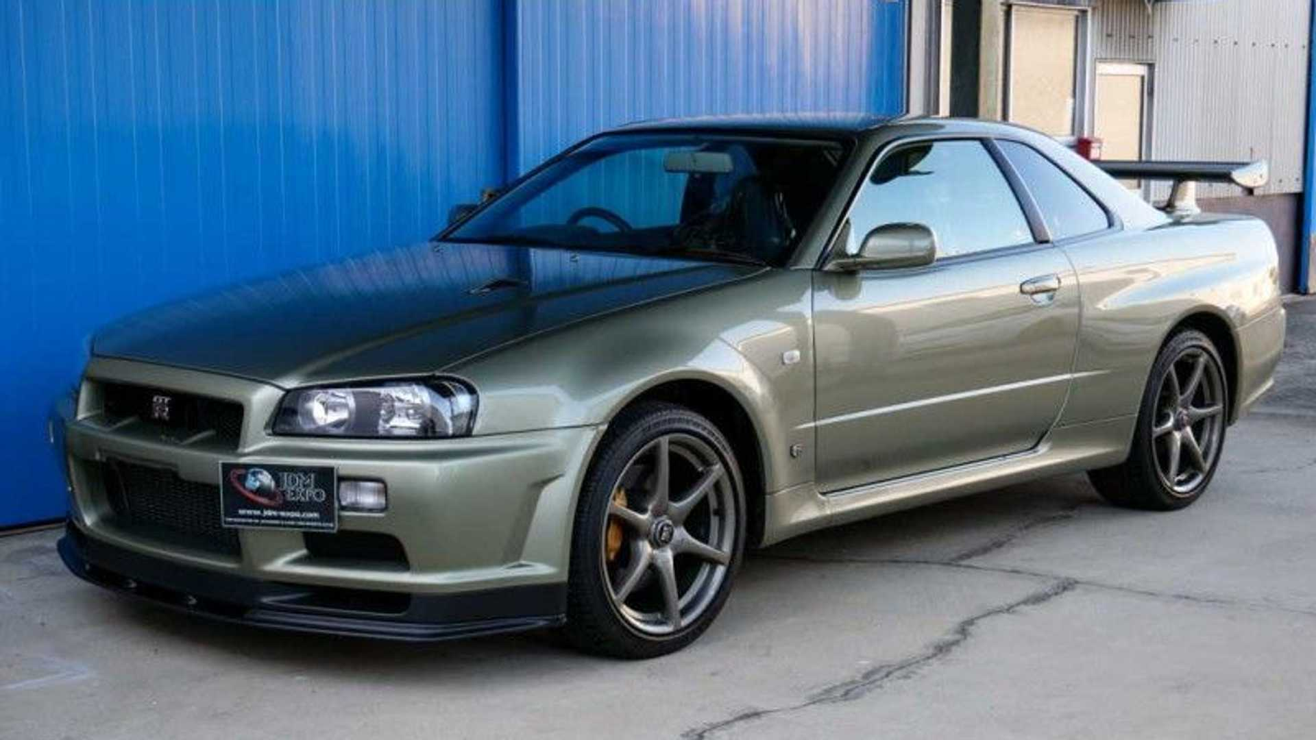 用1,400萬台幣買一輛近乎全新的R34 Nissan Skyline GT-R如何?