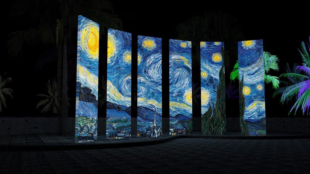 星空下的畫布(圖片來源:2020太平洋靚彩節-星空花蓮活動網站)