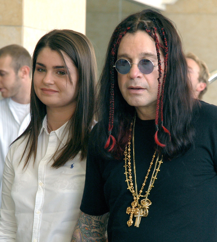Ozzy and Aimée Osbourne in 2003. (Photo: Mark Sullivan/WireImage)