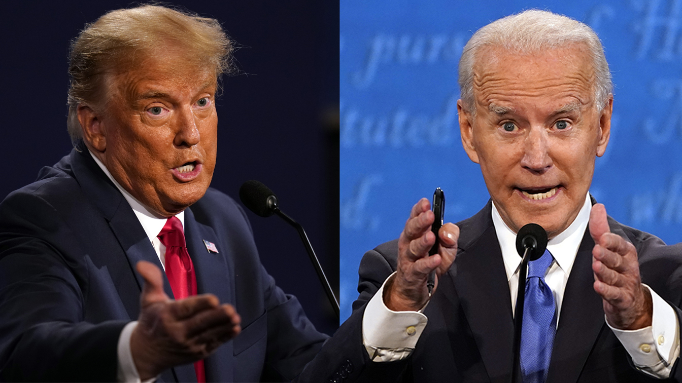 4 takeaways from a less abrasive — but more revealing — debate between Trump and Biden