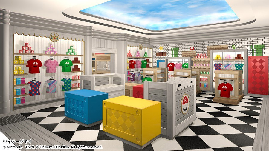 Super Nintendo World Mario's Cafe & Store