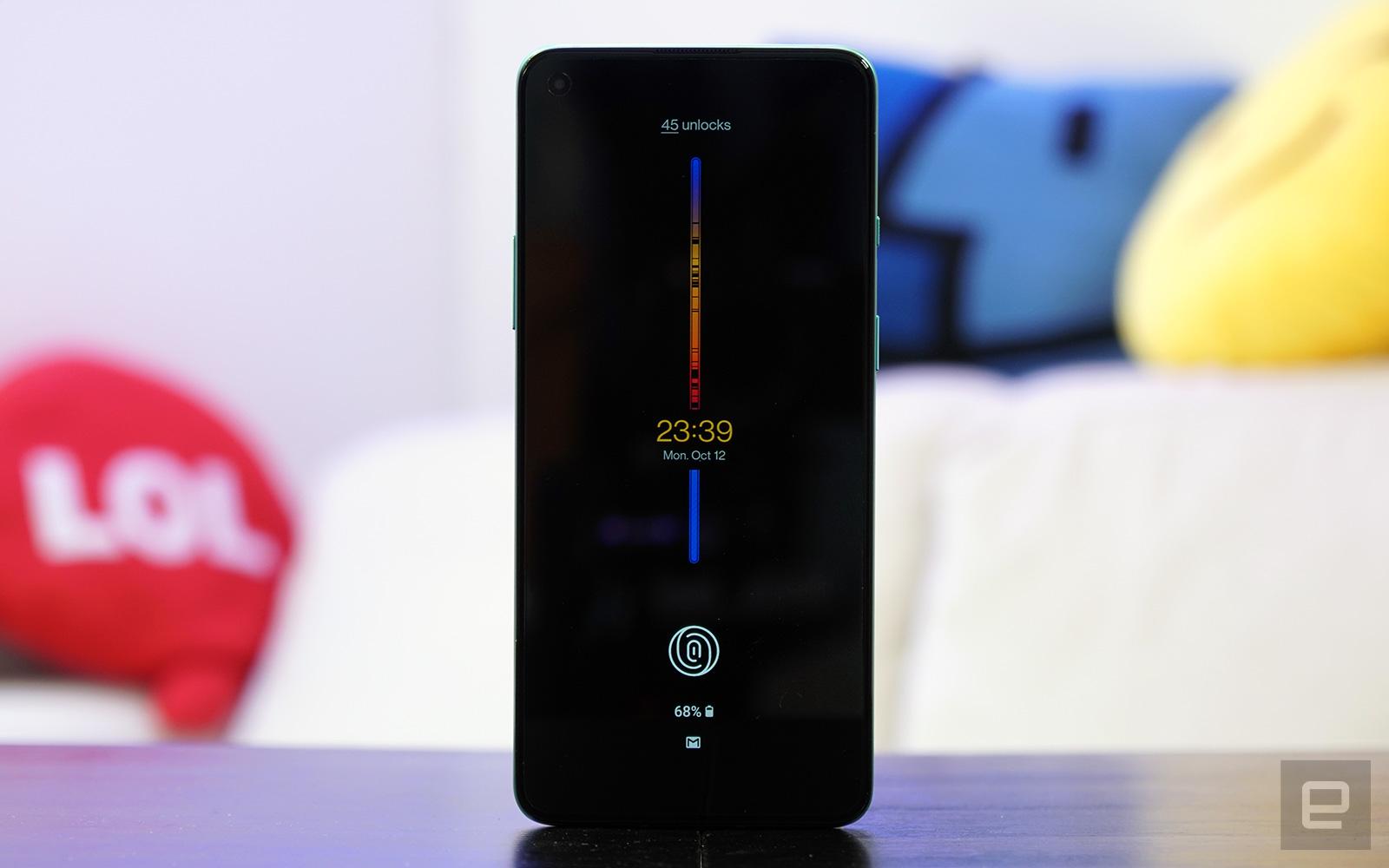 Insight AOD on OnePlus 8T