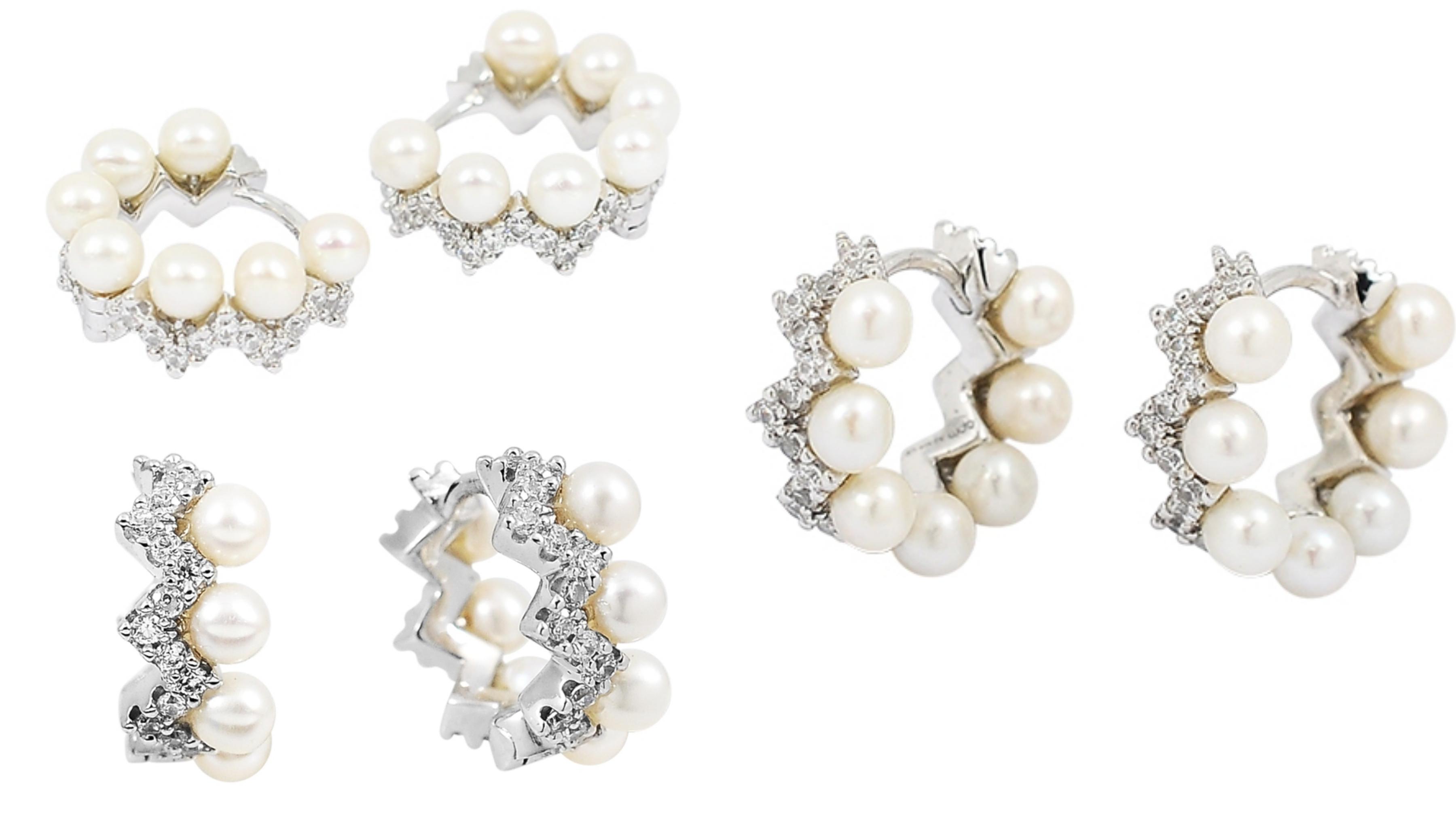 鑲嵌珍珠水鑽等高級珠寶,閃爍奢華迷人的光采