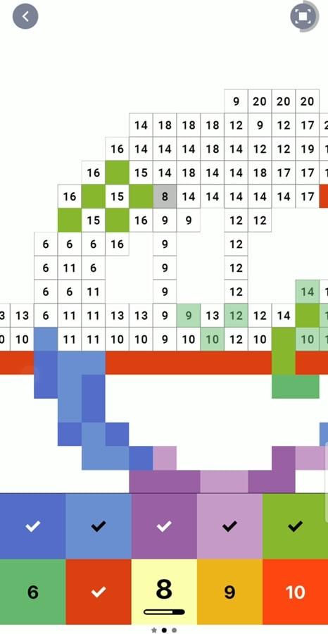 """Ǖªå·é€šã'Šã«ç""""»é¢ã''タップするだけ Áªã®ã«ãƒãƒžã'Œã'‹ Pixel Art ƕ°å—で塗り絵スケッチブック ǙºæŽ˜ ¹マホゲーム Engadget Ɨ¥æœ¬ç‰ˆ"""