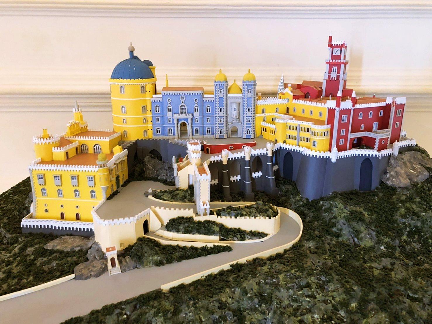 想看整個宮殿就看模型吧(圖片提供/可樂旅遊)