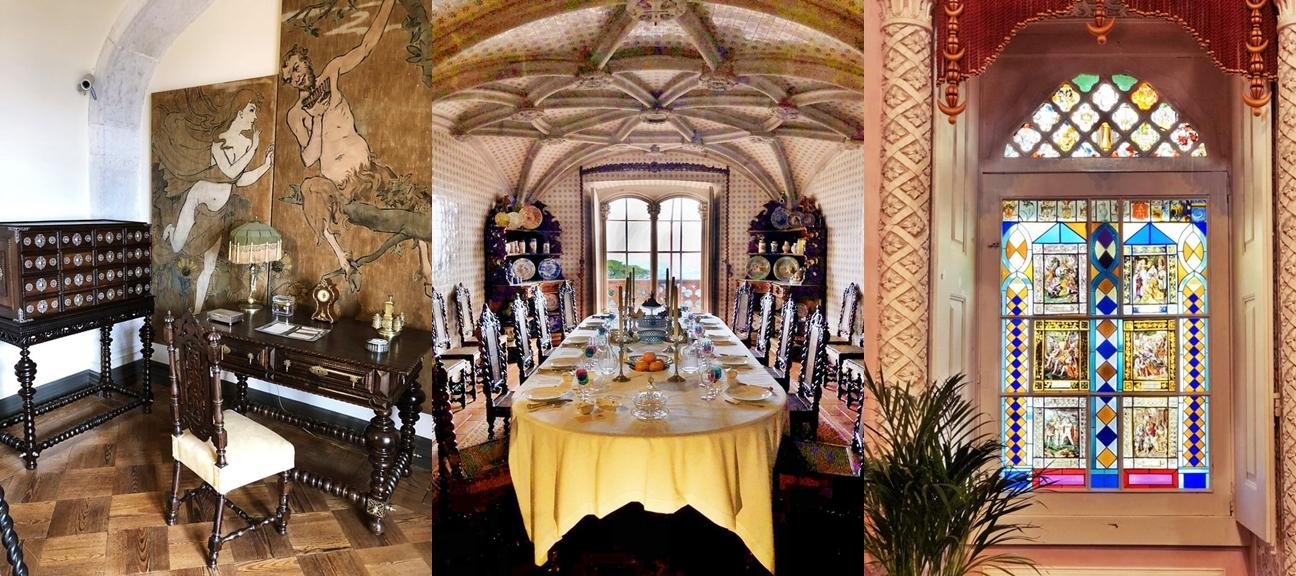 貴族的書桌、餐桌和花窗 (圖片提供/可樂旅遊)