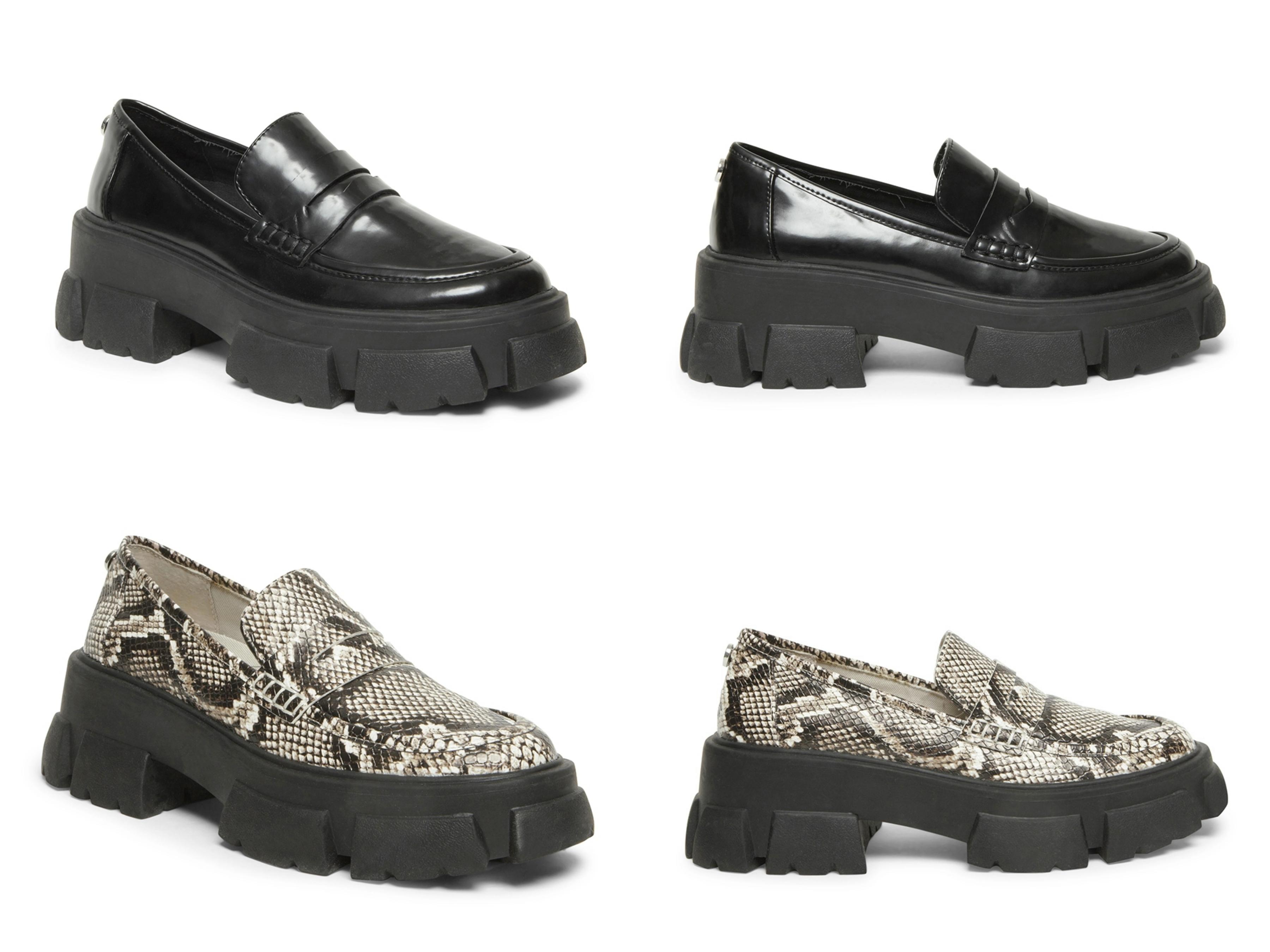 厚底帥氣造型修飾腿型拉長比例,讓英式牛津皮鞋一點都不單調