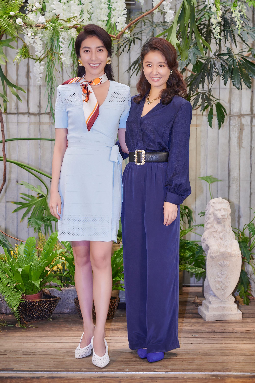 《華燈初上》林心如(右)、楊謹華飾演好姐妹_百聿數碼提供