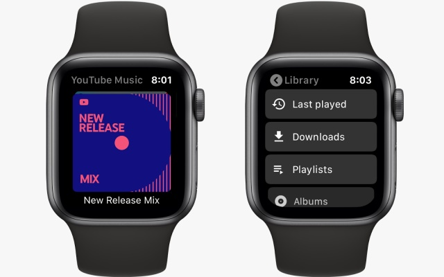 Apple Watch YouTube Music