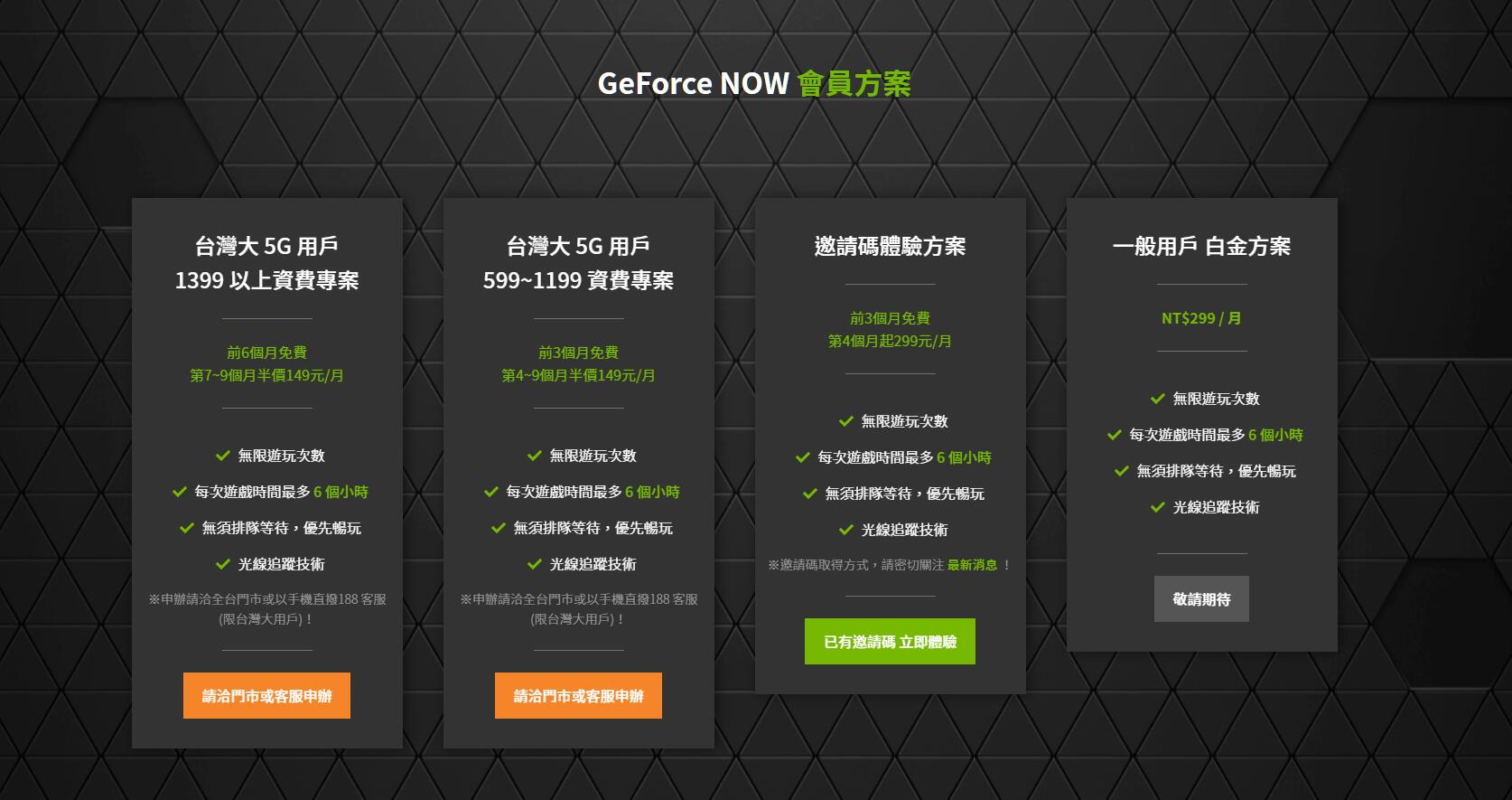 GeForce Now TW