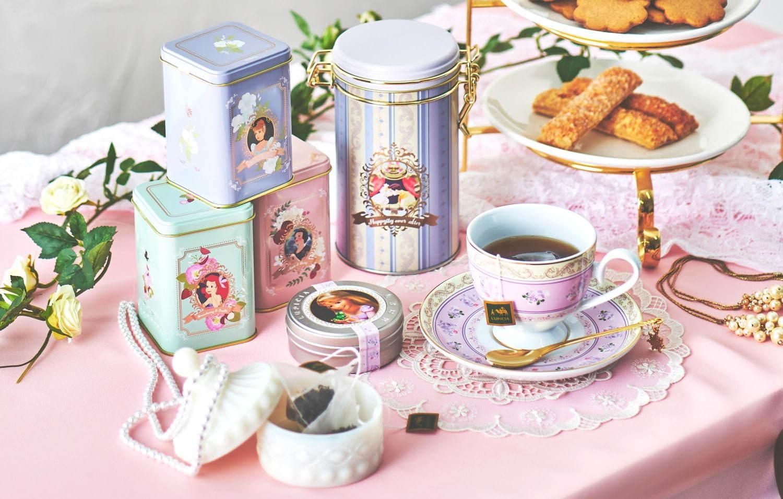 迪士尼公主茶