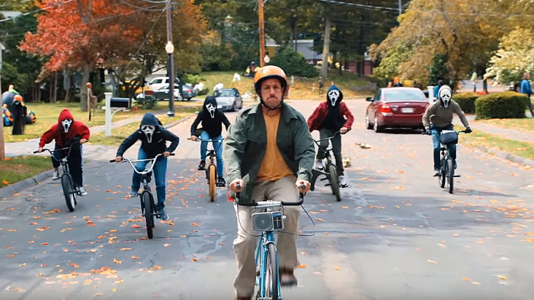 Adam Sandler talks his shift back to comedy with Hubie Halloween, pays touching tribute to late co-star Cameron Boyce