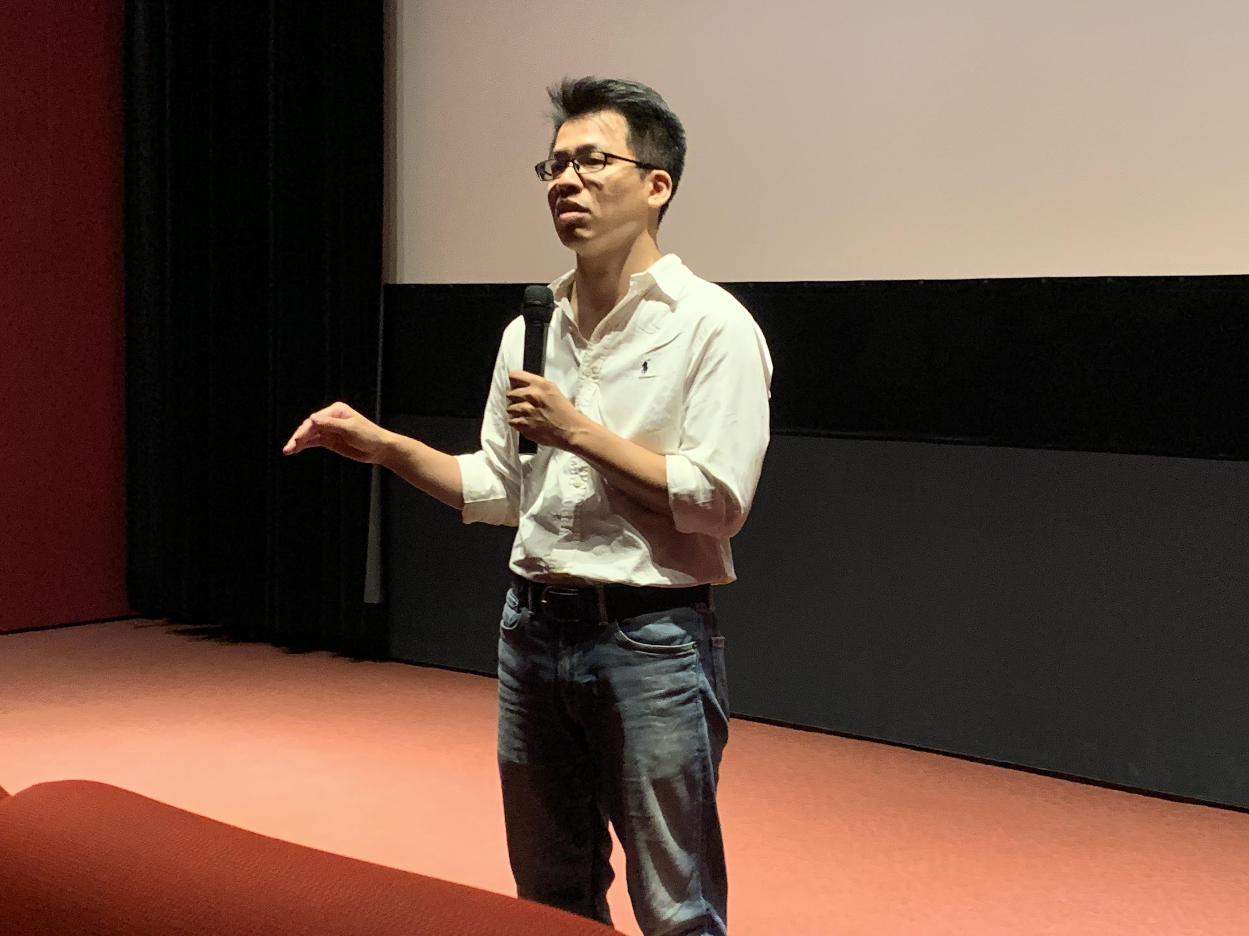 導演李家驊《我的兒子是死刑犯》映後座談