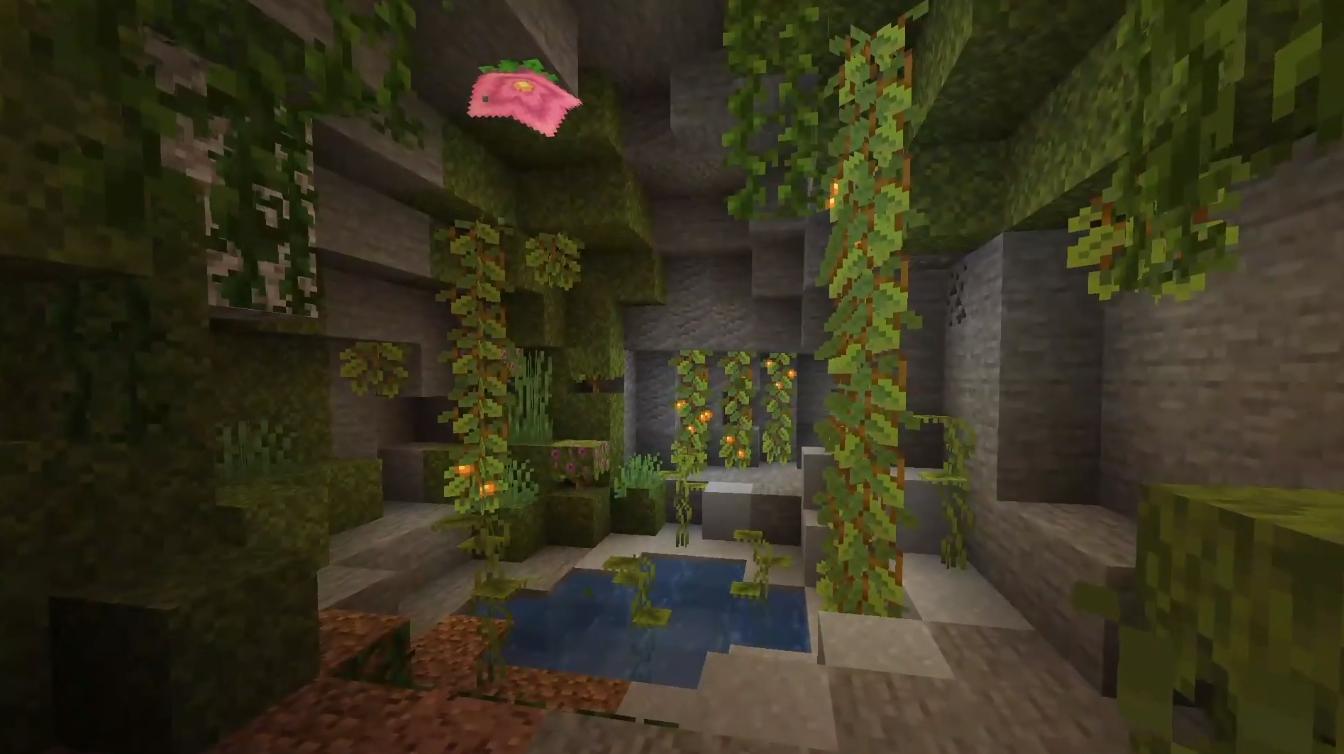 《Minecraft》洞穴更新