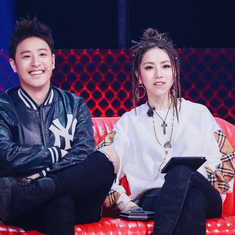 2018年她參加了《中國新說唱》節目