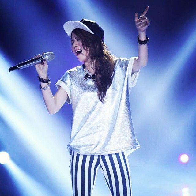 2014年,她參加了《我是歌手》第二季,得到亞軍人氣攀上高峰