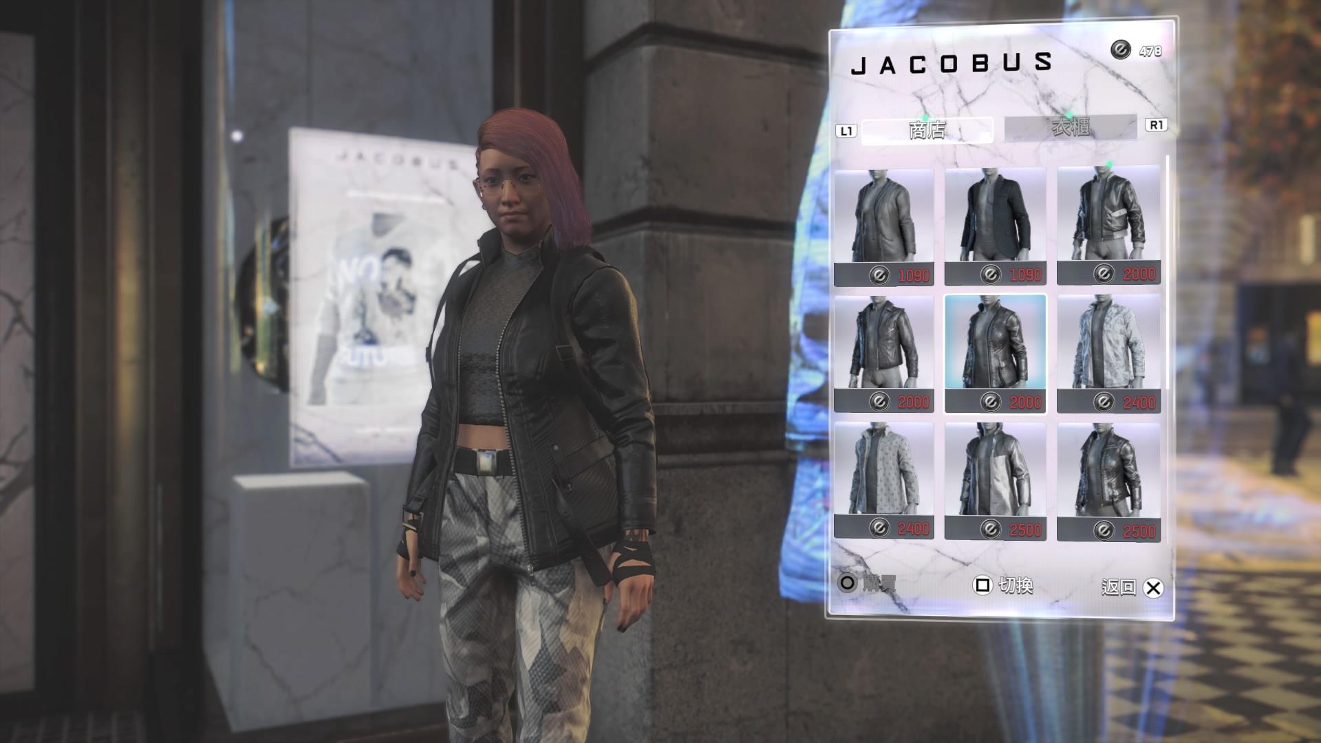 每一位成員的外觀都可以自由設定,只是遊戲中的錢初期並不好賺。(圖源:PS4 Pro)