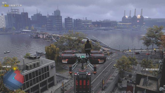 坐在無人機上面看看風景也不錯。(圖源:PS4 Pro)