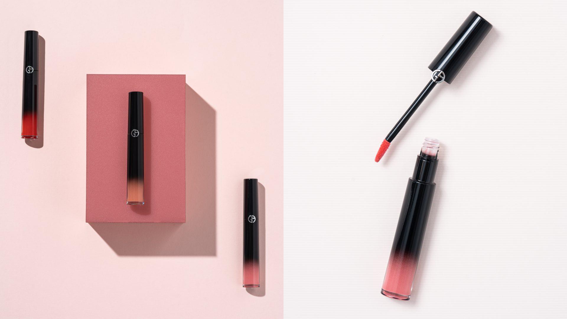 GIORGIO ARMANI 奢華訂製琉光唇萃 3色限量色