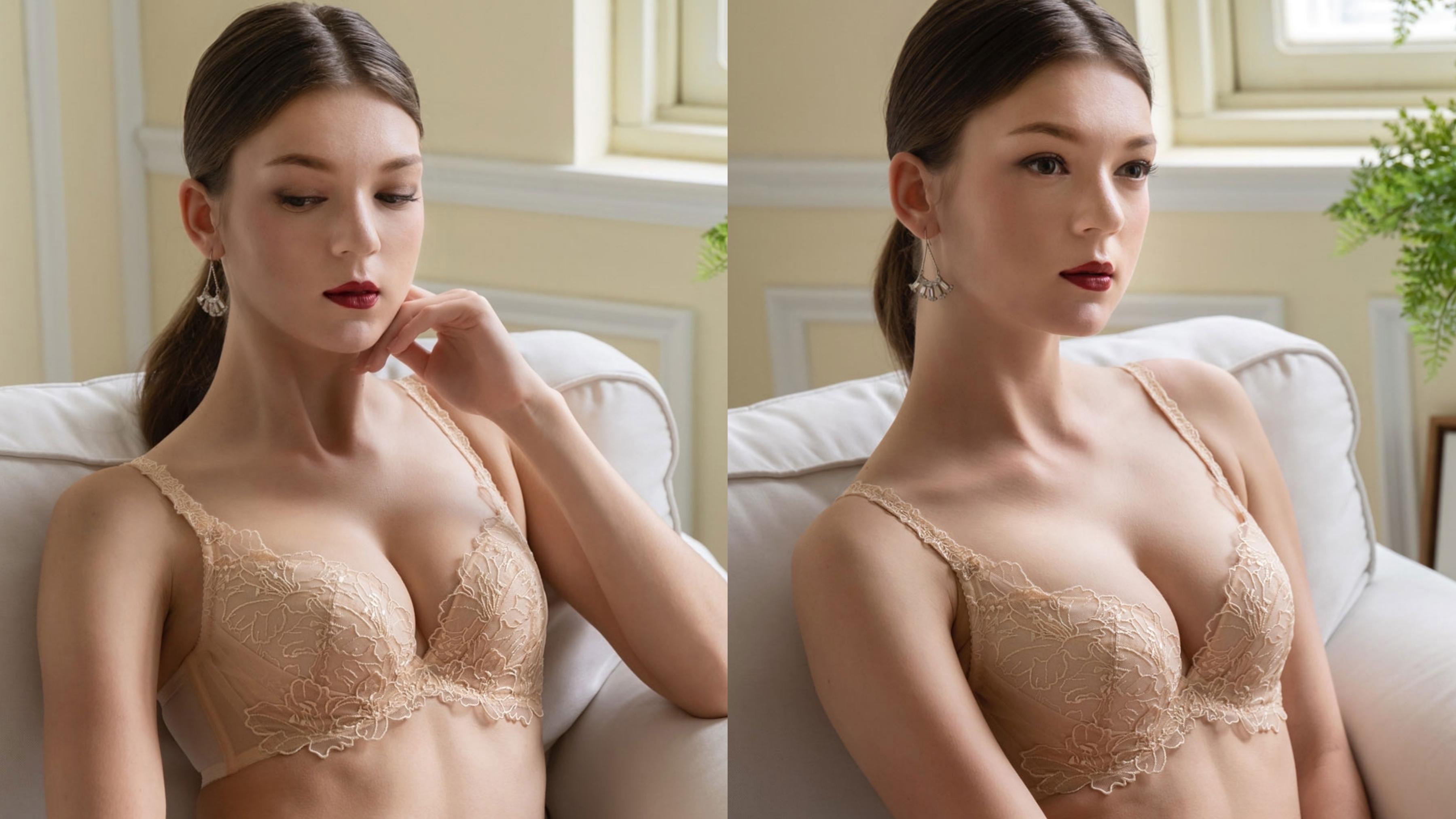 刺繡蕾絲表面加入金屬壓印效果,完美呈現巴黎皇室金碧輝煌的華麗感